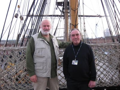 Aboard HMS Victory with Keeper & Curator Peter Goodwin